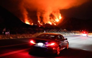 California wildfires burn as statewide heatwave raises risk of brutal blazes