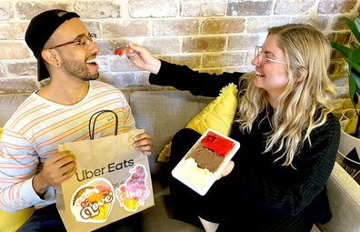 UberEats LockdownLove dessert promotion