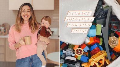 Block favourite Jenna shares three genius — and stylish — toy storage solutions