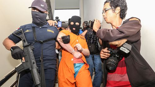 Isaac Emmanuel Roberts, a Queensland accountant, was arrested on drugs charges in Bali. (AAP)