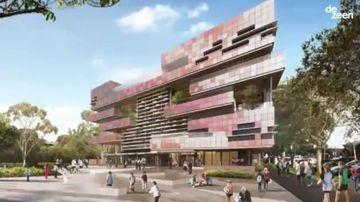 A peek inside Victoria's first vertical, six-floor school