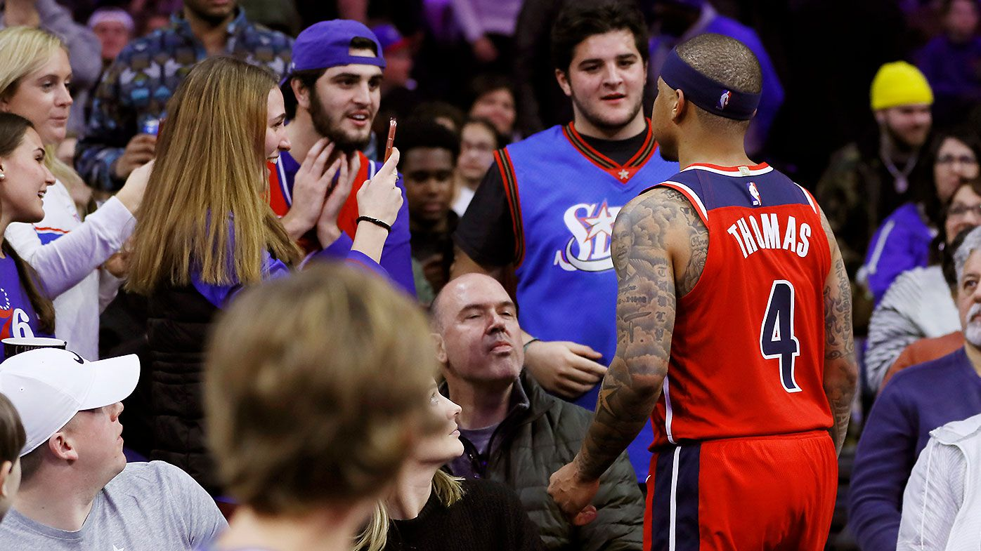 Free frosty revealed as reason behind NBA star Isaiah Thomas' confrontation with unruly fan