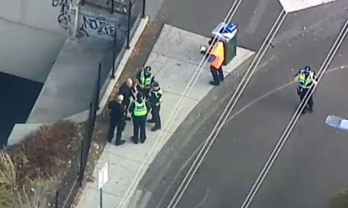 Several lines on Melbourne rail network were shut down after reports of a suspicious item at North Melbourne train station.