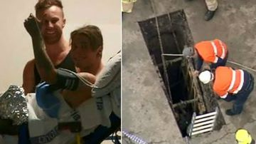 'I thought I was gone': Trench tradie speaks out