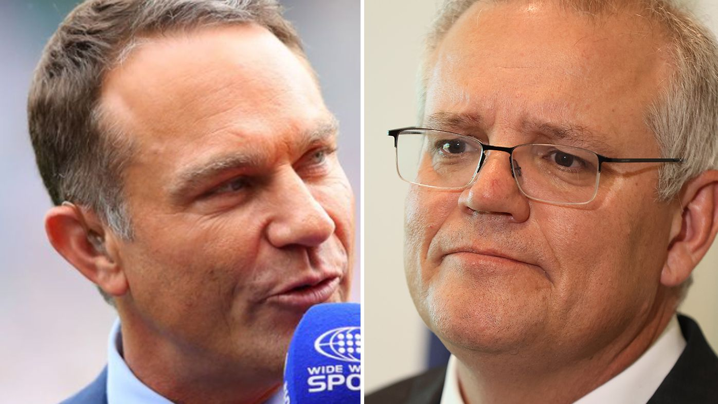 'Amazing to smoke out the PM': Michael Slater doubles down on Scott Morrison criticism