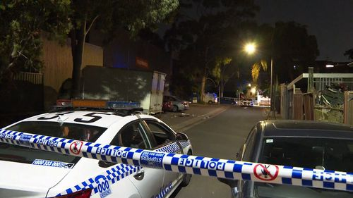 A man has been taken to hospital in a critical condition after being shot in Sefton overnight.