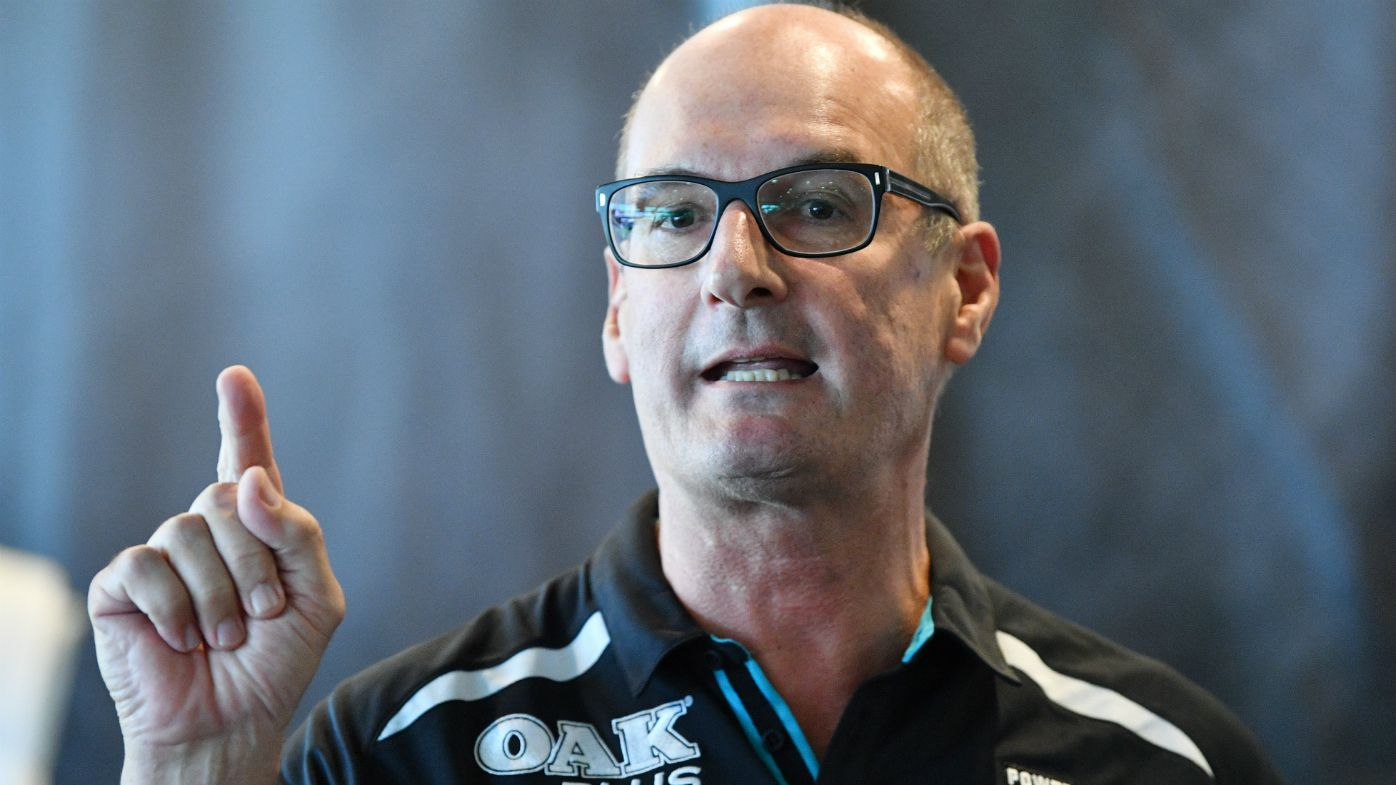 Port Adelaide chairman David Koch barred from Power's preliminary final clash against Bulldogs