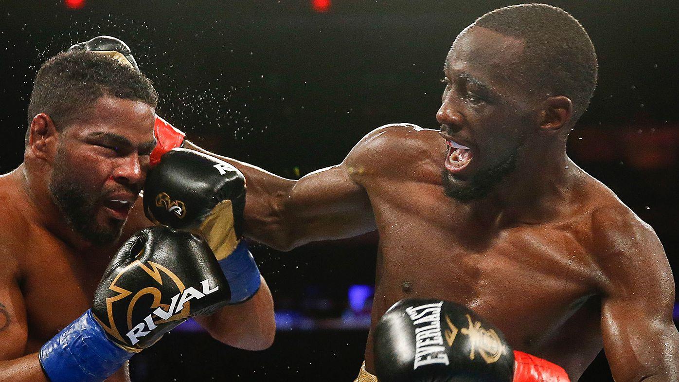 Terrence Crawford punching