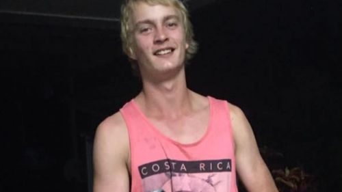 Lee De Paauw, 18, was attacked by a crocodile in the Johnstone River. (Facebook)