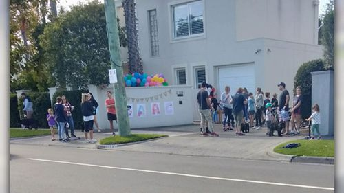 Police were called to a birthday party in Beaumaris, in Victoria, where guests were in breach of social distancing rules.