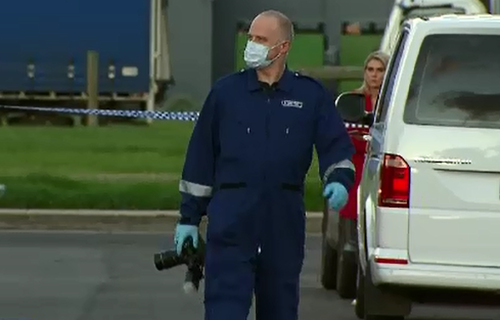 Police are investigating after a man's body was discovered inside a property in Melbourne's west.