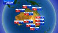 'The sun has been baking the air': Heatwave conditions will hit parts of the country today