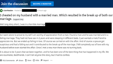 Cheating Stories: Woman trolled for successfully cheating on