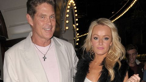 The Hoff's girlfriend is a serial celebrity dater