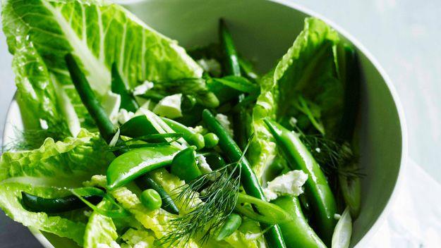 Green salad with fetta