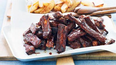 "Recipe:&nbsp;<a href=""http://kitchen.nine.com.au/2016/05/16/12/25/pork-spare-ribs"" target=""_top"">Julie Goodwin's pork spare ribs</a>"