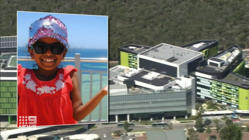Aishwarya died at Perth Children's Hospital in April after waiting two hours in the emergency department.