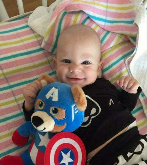 Eli Morgan toddler defies cancer diagnosis