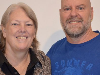 Graeme and Sonia Gibney think people should talk about death more..