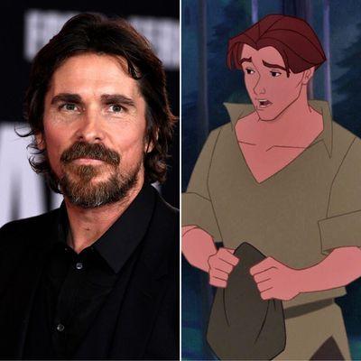 Christian Bale as Thomas in Pocahontas