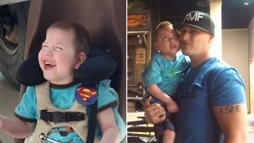 Boy with terminal disease named honorary Marine