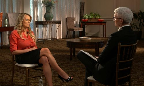 Adult film star Stormy Daniels was interviewed by Anderson Cooper on 60 Minutes about her alleged affair with Donald Trump.