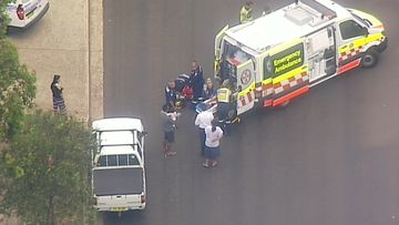 Ambulance crews have taken the boy to The Children's Hospital at Westmead where he is in a stable condition.