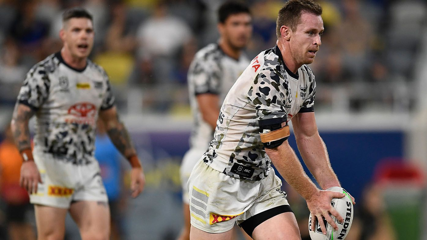 Star North Queensland Cowboys playmaker Michael Morgan on track for round-one return from nightmare shoulder injury