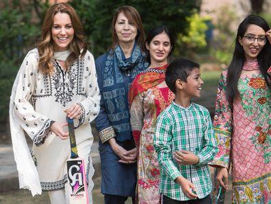 Kate Middleton at SOS Village in Pakistan