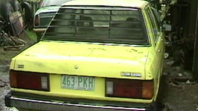 Ms Phillips' yellow Datsun was found near the former Wacol Migrant Centre on Ipswich Road, locked and with its keys missing.