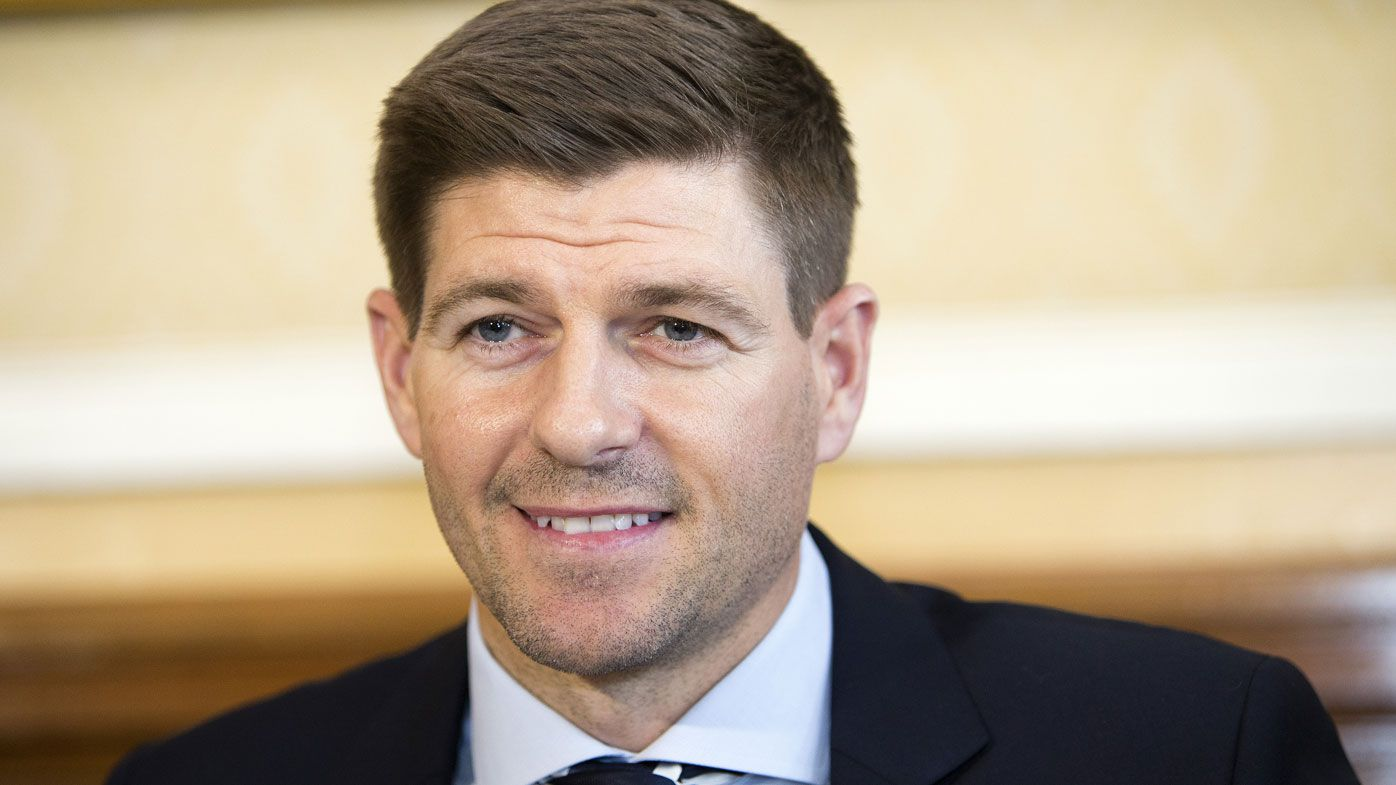 Former England and Liverpool legend Steven Gerrard appointed Glasgow Rangers manager