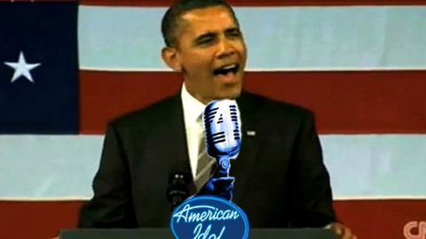Wanted: President Obama for <i>American Idol</i>!