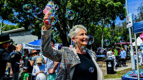 Independent candidate Kerryn Phelps could erase the government's one-seat majority.