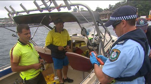 Officers will be assisted by a 32-metre vessel called Nemesis. (9NEWS)