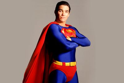 No wonder no one ever realised <b>Dean Cain</b>'s Clark Kent and Superman were the same person. With a costume like the one in the '90s' <i>Lois and Clark</i>, it wasn't like anyone would be looking at his face.