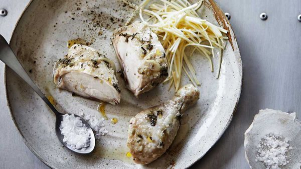 Mark Best's sous vide chicken
