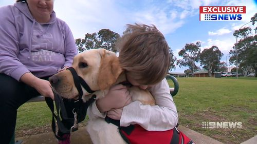Eight-year-old Logan Reece's service dog was not allowed into a holiday park.
