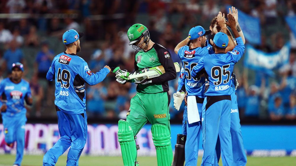 Strikers claim BBL win over Stars