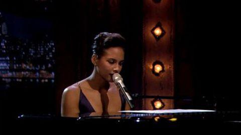 Alicia Keys covers the <i>Gummi Bears</i> theme