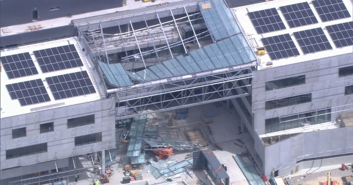 Person killed in building collapse at Curtin University in Perth – 9News