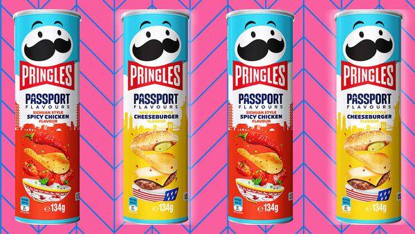 New Pringles Passport flavour range