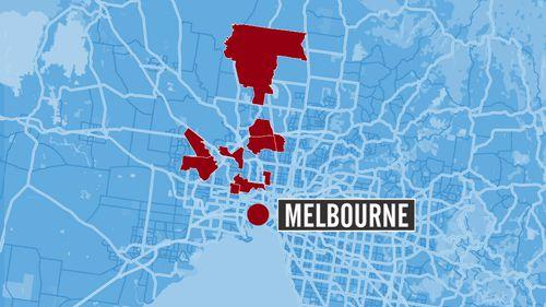 Melbourne hotspot map