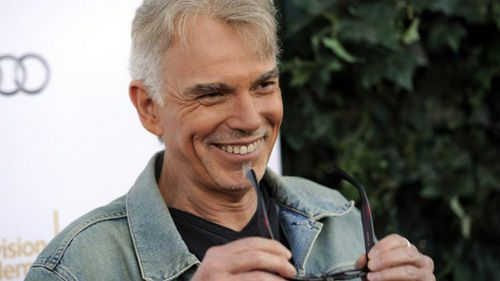 Billy-Bob Thornton, pictured at the Emmy's nomination lunch, has been put forward for 'lead actor in a miniseries' for Fargo, based on the 1996 Coen brothers' film. Picture: AP
