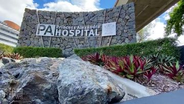 Brisbane hospital in lockdown as questions asked about lack of staff protection