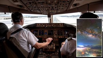 Ralf Rohm (left) said he shoots footage and photos from one-third of all his flights.