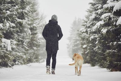 A dog will help keep you active — especially in winter