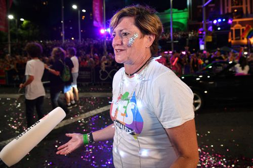 Prominent gay rights activist and former Prime Minister Tony Abbott's sister, Christine Forster. (AAP)