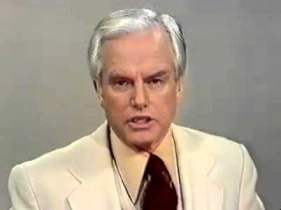 TV PRESENTER RON CASEY (5 July, 1929 - 2 Oct, 2018)