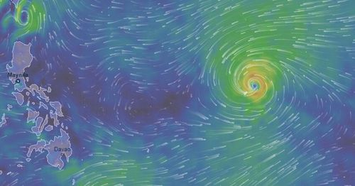 Typhoon Mangkhut is strengthening as it approaches the Phillippines.