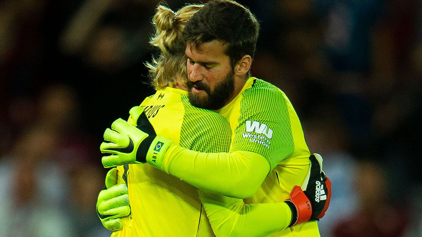 Loris Karius Alisson Becker